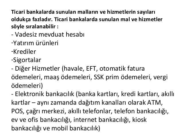 Bankacılıkta pazarlama  Slide 3