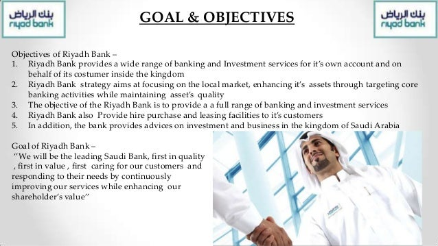 Project Proposal The proposal represent by the Riyadh bank helps in Saudi business development and succeed. It's also guid...