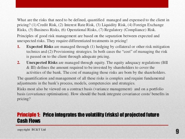 bank pricing strategies Mortgage-origination companies implement pricing strategies to guide  back at  the events that led to the large profit margins in mortgage banking as reported.