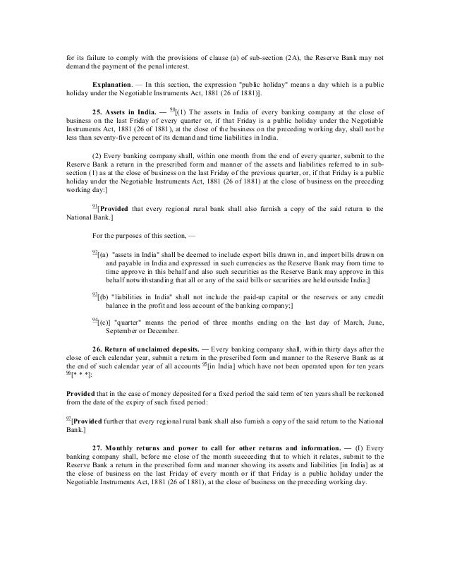 Bank Regulation Act