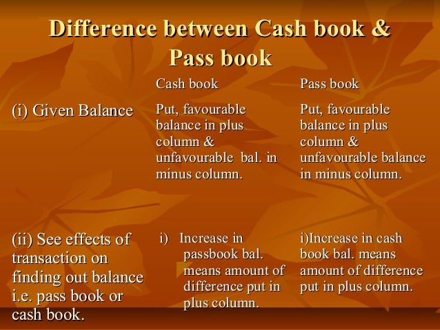 difference between cash book pass There is no difference between the actual content of the two versions of the books the only difference is the covers adults wouldn't want to be seen reading what is known as a childrens book, and the original cover has childish cartoons on the cover.