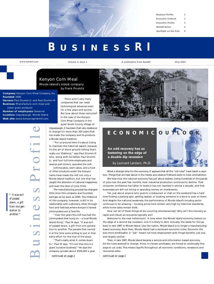 Business Profile          1                                                                                               ...