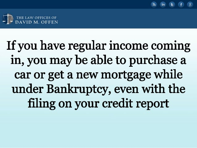 Bankruptcy and Your Credit Report in Philadelphia Slide 3