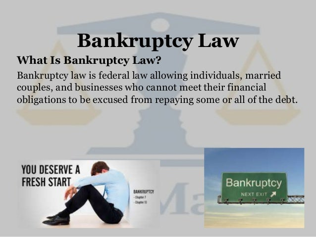 Federal Insolvency Law