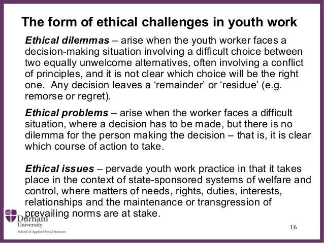 ethical challenges essay Indeed, ethics and leadership should go hand in hand in his book meeting the ethical challenges of leadership, craig e johnson uses the analogy of.