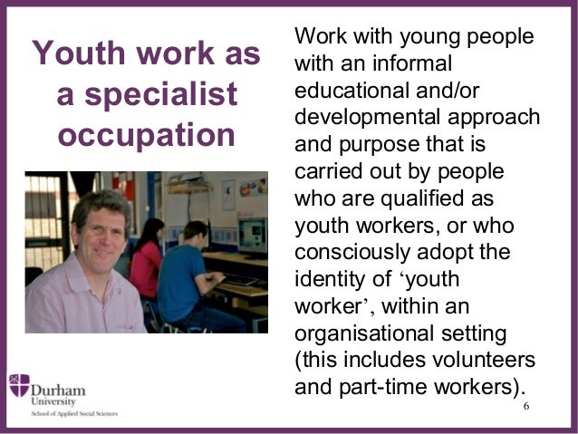youth worker qualifications