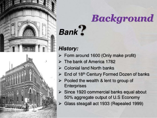 Commercial Banks History Functions Roles