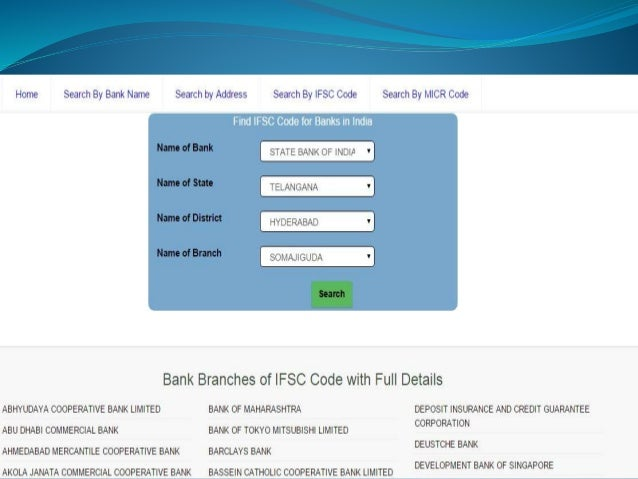 Ask Bank IFSC Code | Search Bank IFSC Code, MICR Code ...