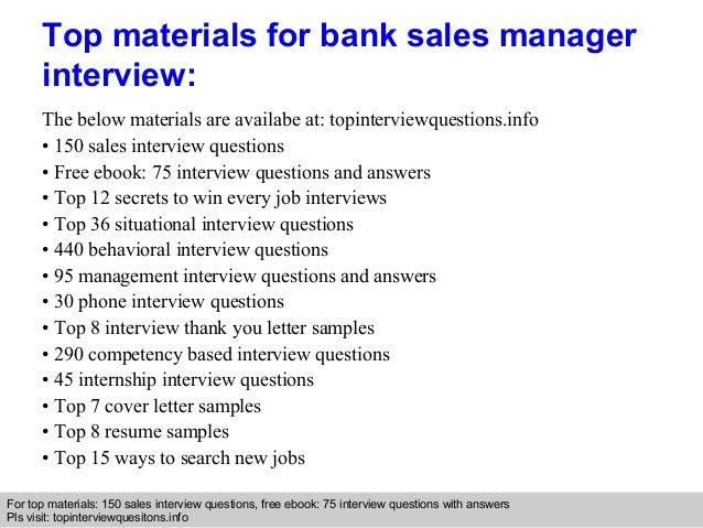 Interview pdf banking questions