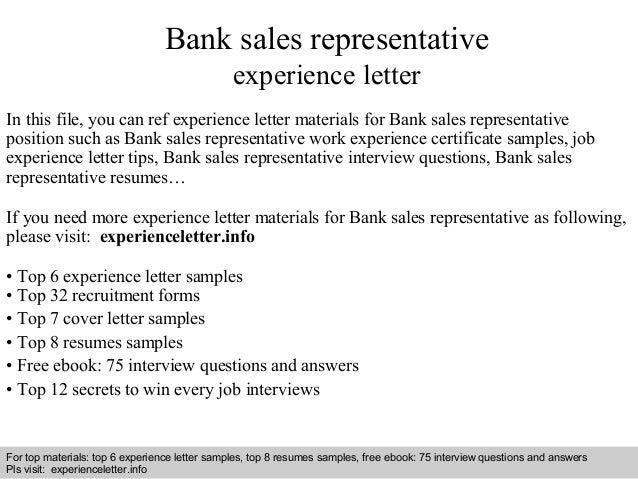 bank sales representative experience letter 1 638 jpg cb 1409221919