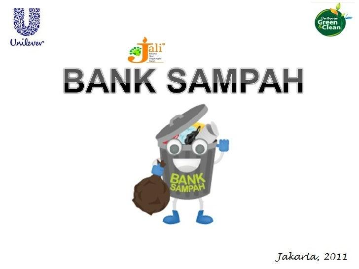 DAUR ULANG SAMPAH MELALUI BANK SAMPAH