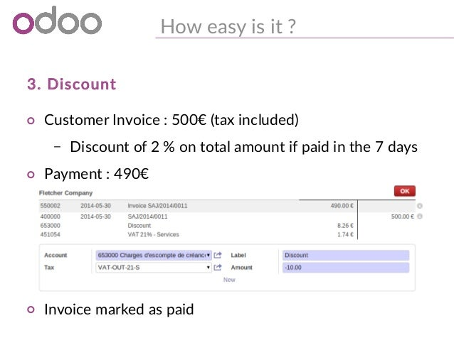 Odoo - Easily Reconcile your Invoices & Payments with the
