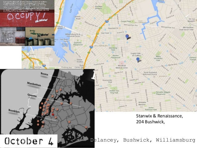 Google Map Of New York.Banksy In New York With Google Maps