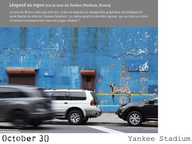 Banksy In New York With Google Maps