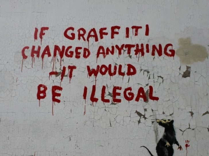 Advertising Made More Effective With The Right Kind Of: Banksy Pictures