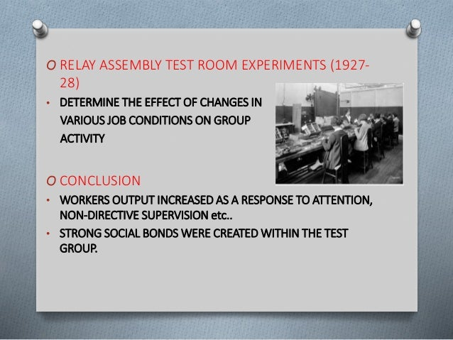 bank wiring observation room experiment rh slideshare net Examples of Naturalistic Observation Experiments Scientific Observation Examples