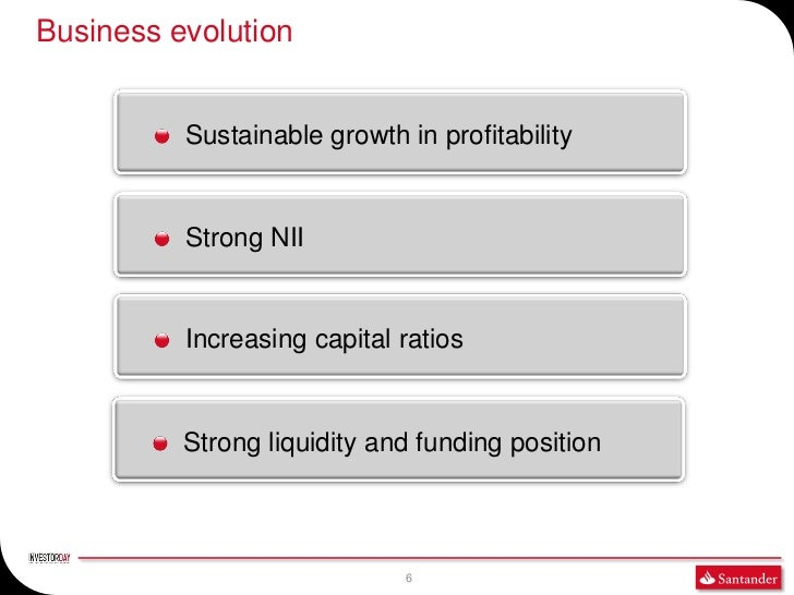 Business evolution          Sustainable growth in profitability          Strong NII          Increasing capital ratios    ...