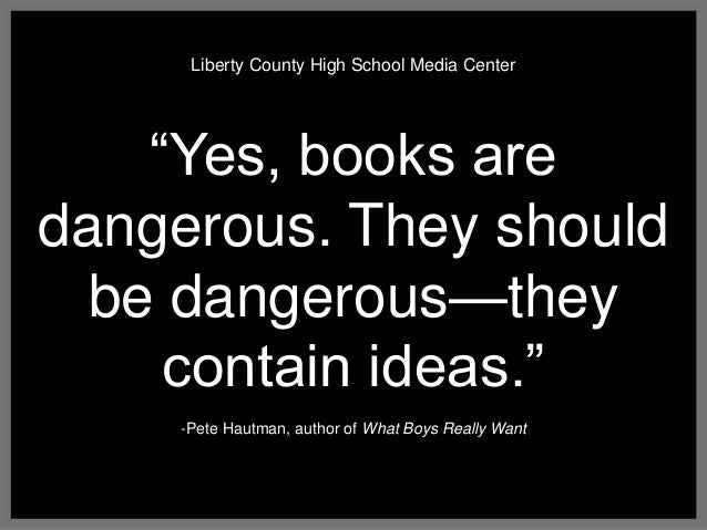 why fahrenheit 451 should not banned school The first time the book was banned was in a california high school another reason the color purple should not be banned or the novels fahrenheit 451.