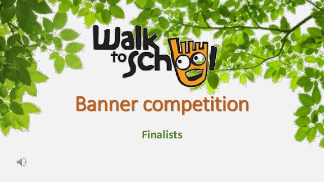 Banner competition Finalists