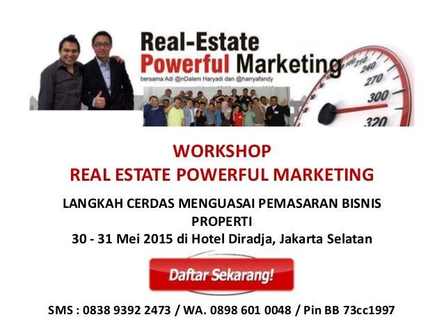 Workshop Real Estate Powerfull Marketing Slide 2