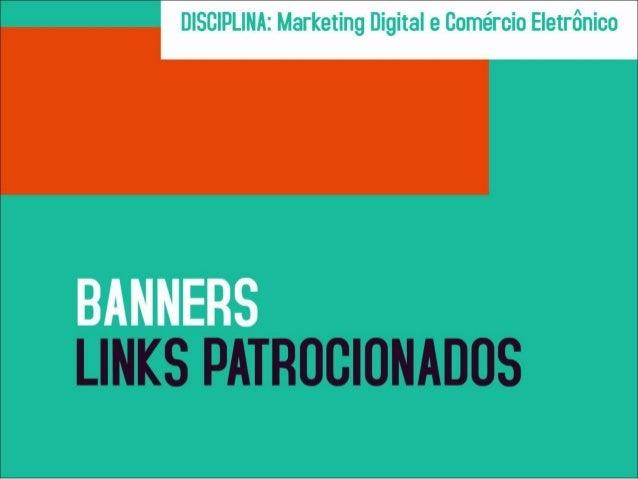 Banners e links patrocionados