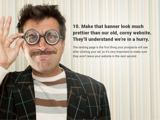 Top 10 greatest mistakes in banner advertising Slide 2