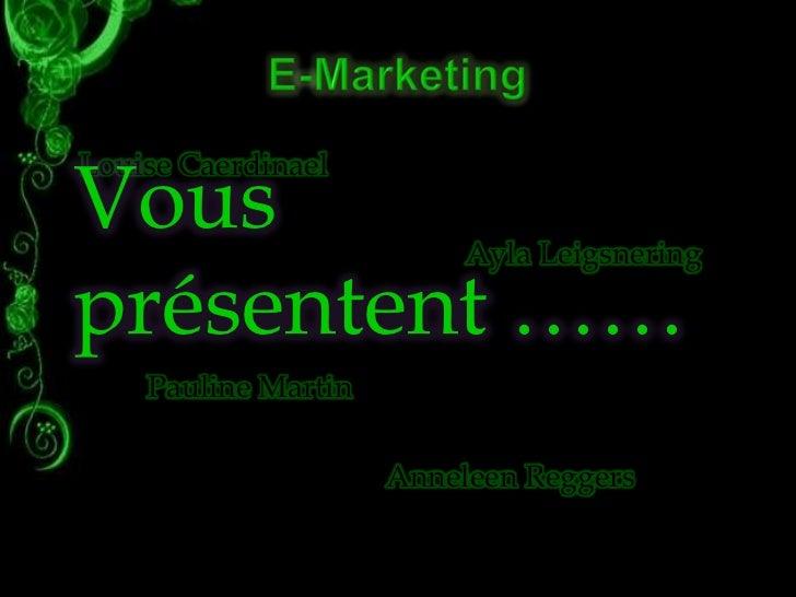 Louise CaerdinaelVous                      Ayla Leigsneringprésentent ……    Pauline Martin                     Anneleen Re...