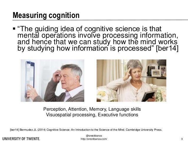 Enabling remote assessment of cognitive behaviour through mobile experience sampling  Slide 3