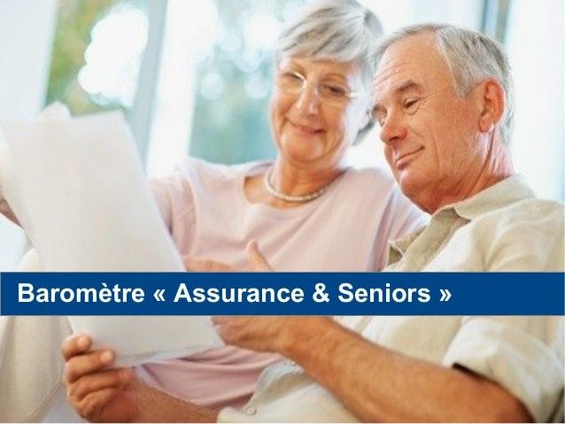 Baromètre « Assurance & Seniors »
