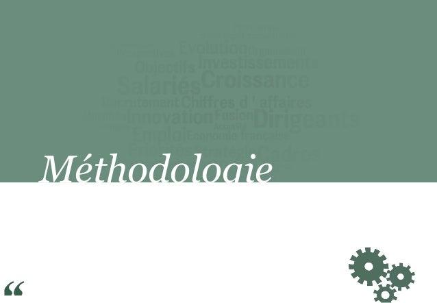 Banque Palatine / Opinionway : Observatoire de la performance des PME/ETI / Janvier 2015 Slide 2