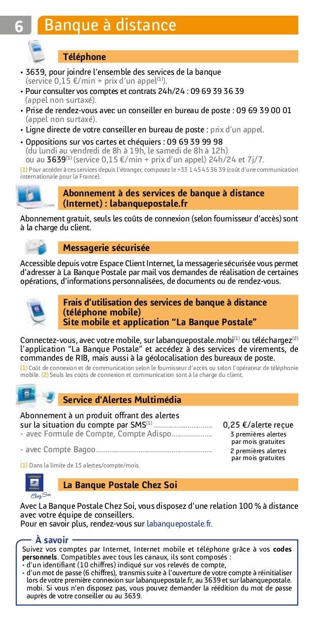Banque Postale 2016 Particuliers