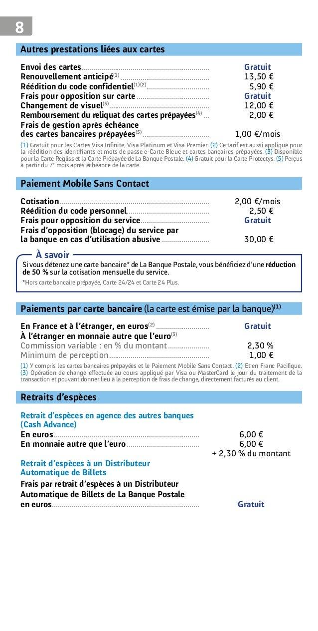 opposition carte la poste RTF] Opposition Paiement Carte Bancaire Internet