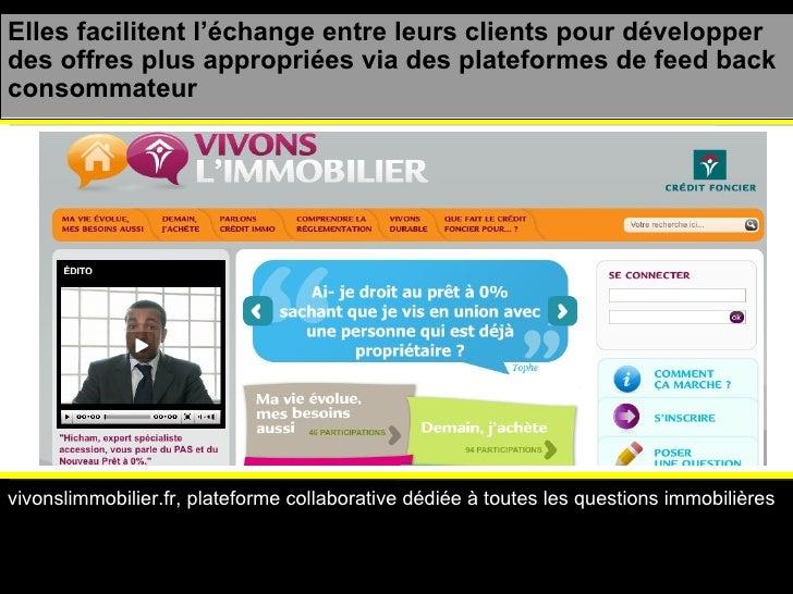 vivonslimmobilier.fr, plateforme collaborative dédiée à toutes les questions immobilières Elles facilitent l'échange entre...