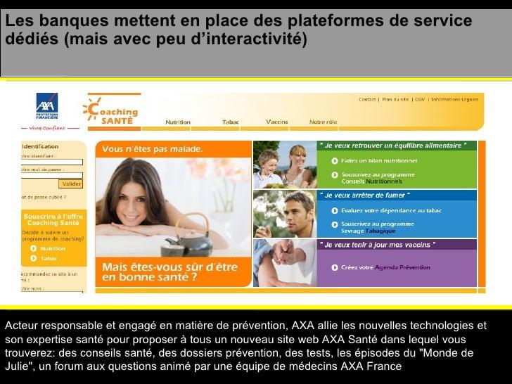 Acteur responsable et engagé en matière de prévention, AXA allie les nouvelles technologies et son expertise santé pour pr...
