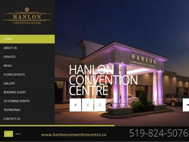 www.hanlonconventioncentre.ca