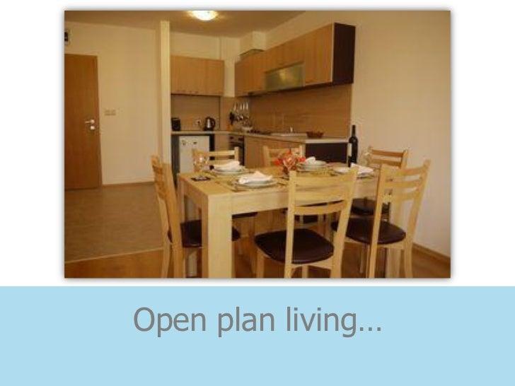Open plan living…