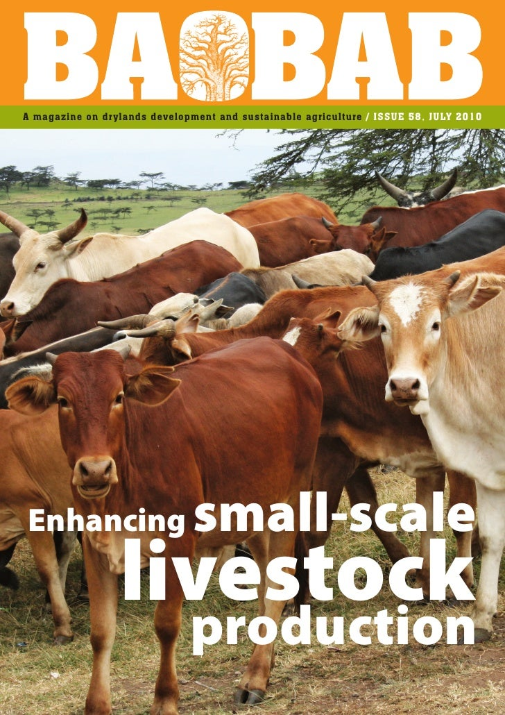 A magazine on drylands development and sustainable agriculture / ISSUE 58, JULY 2010     Enhancing                      sm...