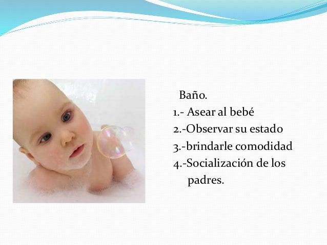 Baño del recién nacido