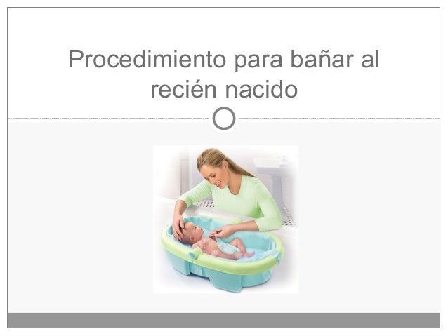 Bano Del Recien Nacido