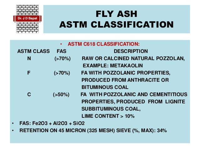 properties of high lime fly ash concrete Fly ash, limestone/cement blends boost compressive strengths.