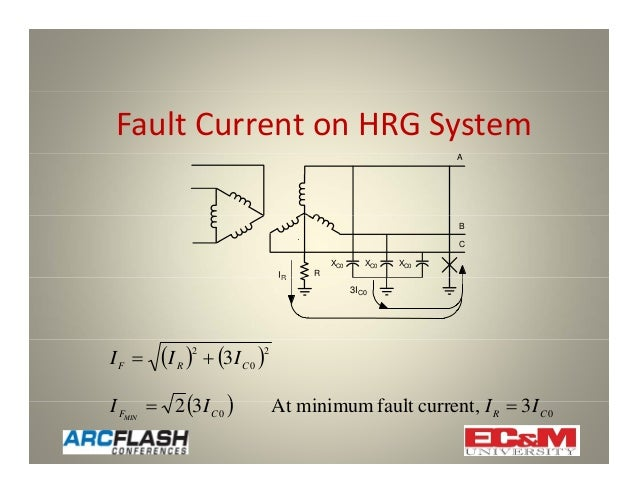using high resistance grounding to mitigate arc flash hazards rh slideshare net post glover hrg wiring diagram Simple Wiring Diagrams