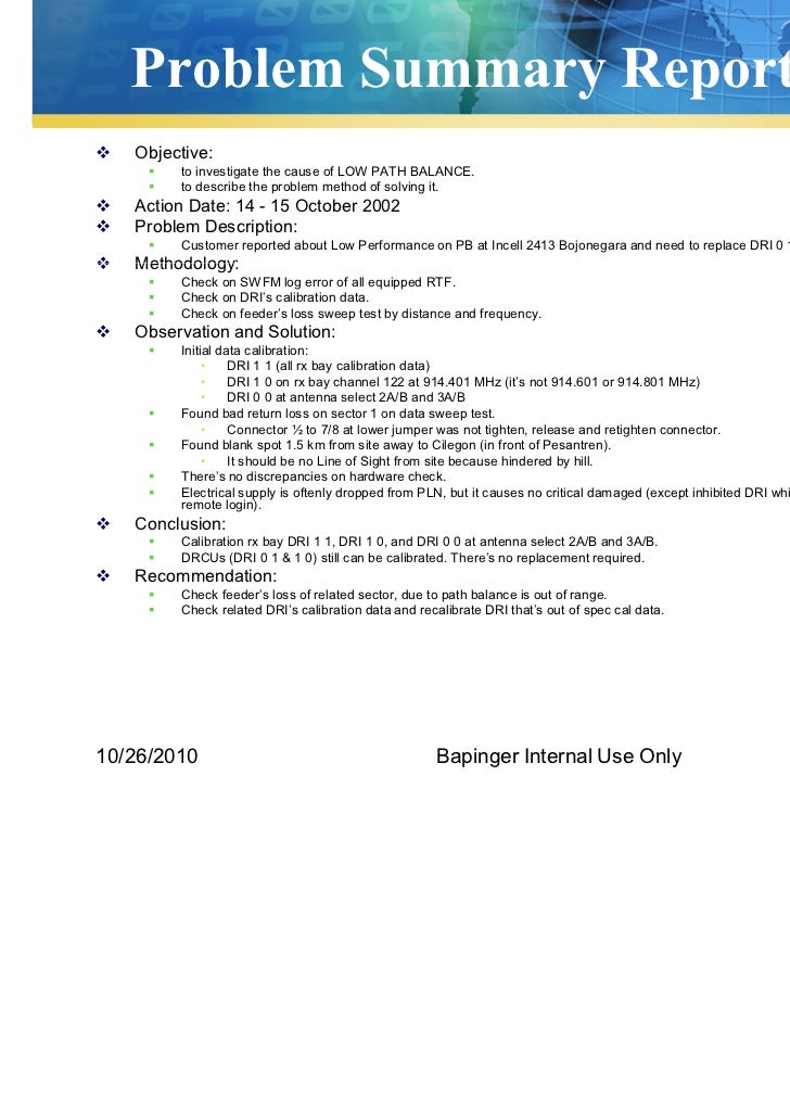 Bapinger Help Desk Procedure Log Book  Report