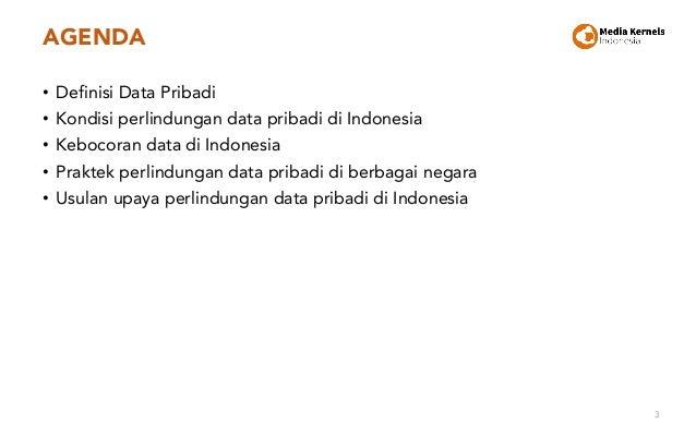 Perlindungan Data Pribadi di Indonesia Slide 3