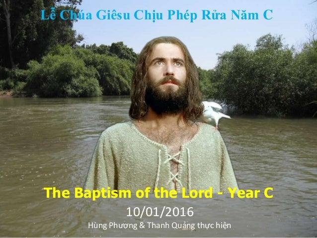 Baptism sunday year c