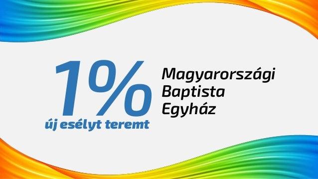 Magyarországi Baptista Egyház új esélyt teremt