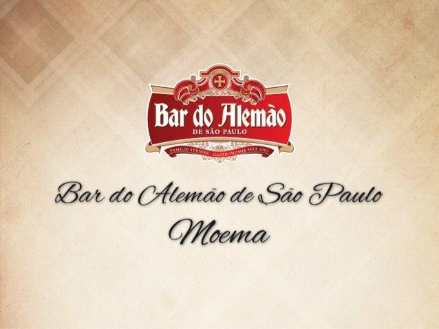 Inaugurado em 2008 pelos bisnetos do fundador do Bar do Alemão de Itu, o Bar do Alemão de São Paulo em Moema traz a tradiç...