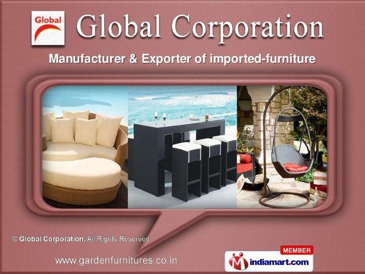 Manufacturer & Exporter of imported-furniture