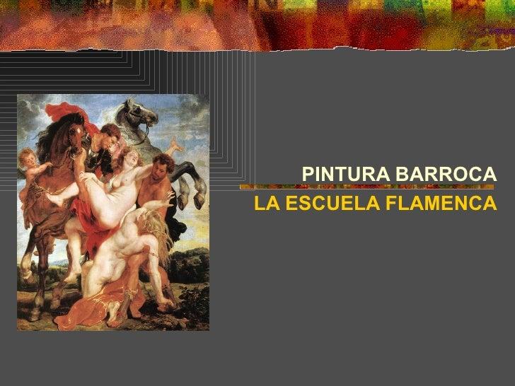 PINTURA BARROCALA ESCUELA FLAMENCA