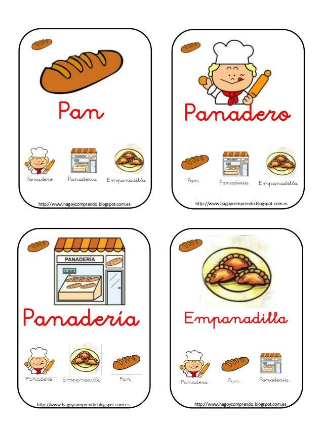 Pan Panadero Panadería Empanadilla Panadero Panadería Empanadilla Pan Panadería http://www.hagoycomprendo.blogspot.com.esh...