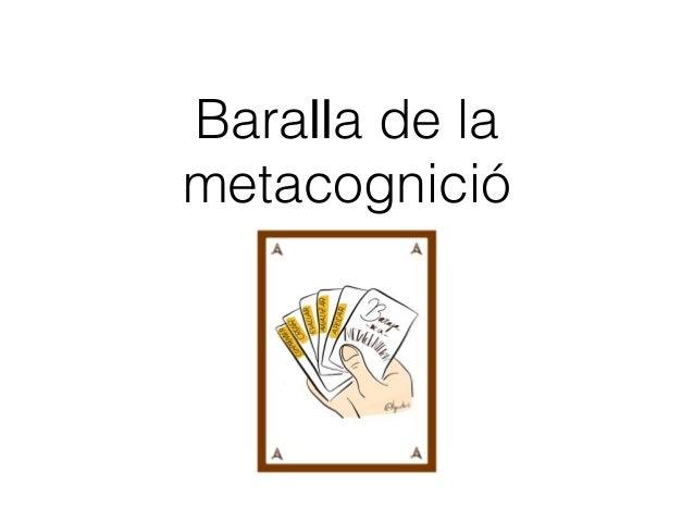 Baralla de la metacognició
